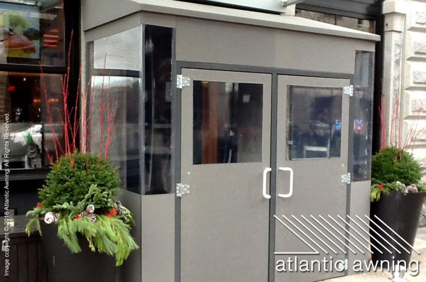 Vestibules Enclosures Commercial And Residential Awnings In Ma