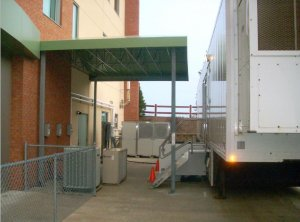 Mobile MRI Awnings